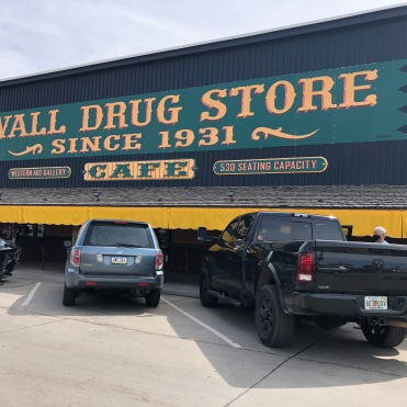 THE FAMOUS WALL DRUG